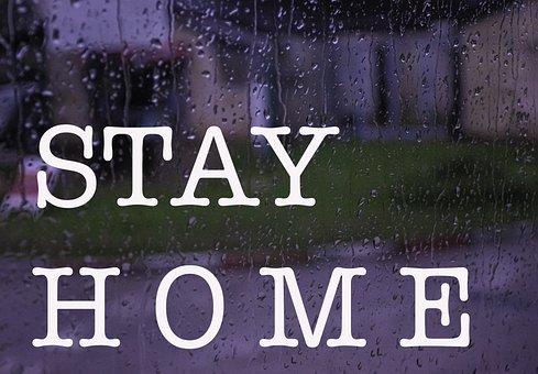 Stay Home, Window, Covid-19, Quarantine, Pandemic, City