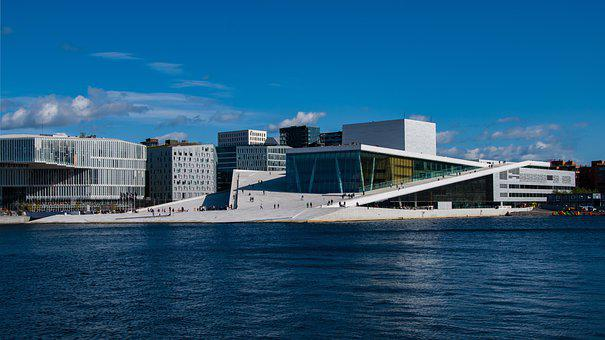 Norway, Oslo, City, Scandinavia, Architecture, Opera