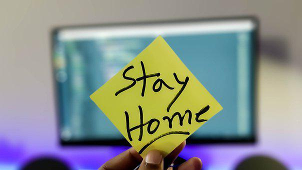 Stay Home, Stay Safe, Covid, Covid-19, Quarantine