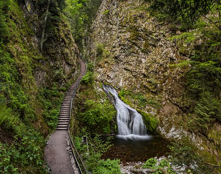 Allerheiligen Waterfall, Waterfall, Black Forest