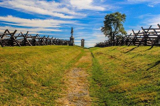 Antietam, Bloody Lane, Battlefield