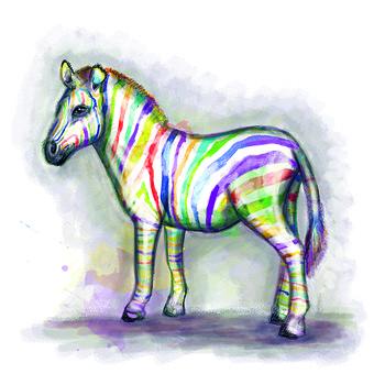 Horse, Cavalry, Stallion, Horses, Animal, Zebra