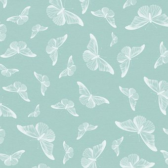 Butterfly Pattern, Digital Paper, Background, Template