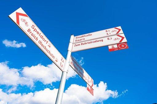 Directory, Sky, Shield, Direction, Arrow