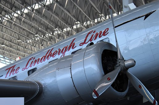Airliner, Plane, Vintage, Aircraft, Flight, Dc3