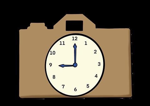 Clock, 9 O'clock, Nine O'clock, Time