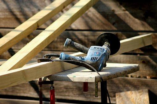 Grinder, Tools, Building, Buff, Equipment, Repair, Work