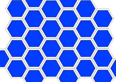 Honeycomb Structure, Diamond, Combs