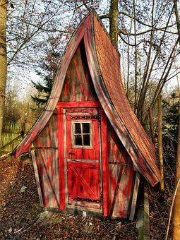 Witch's House, Garden Shed, Hut, Woodhouse
