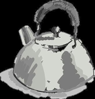Kettle, Beverage, Pot, Drinking, Kitchen