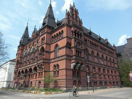 Court, Rostock, Hanseatic City, Hanseatic League, Brick