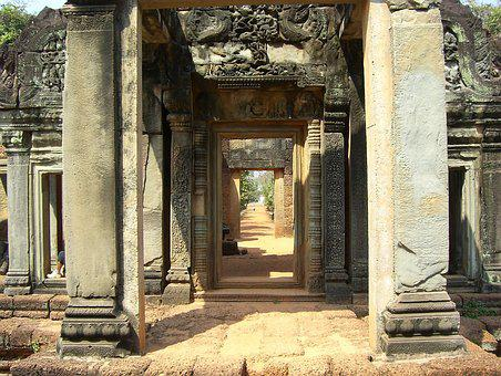 Temple, Religion, Cambodia, Angkor Wat, World Heritage