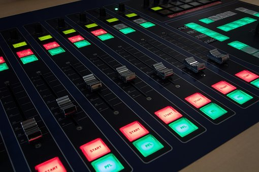 Mixer, Controller, Start, Conference Lighting