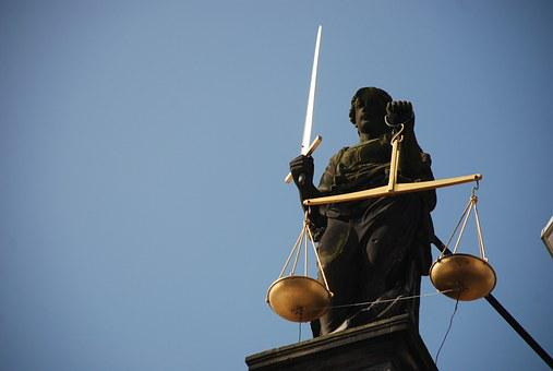 Lady Justice, Case-law, Right, Scale, Court