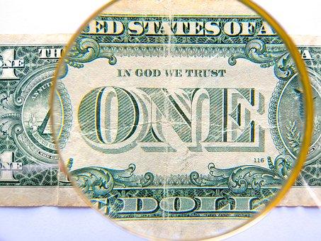 Dollar, Currency, Finance, Usa, Dollar Bill, One