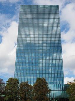 Building, Architecture, Modern, Glass Facade, Facade