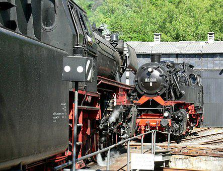 Dampflok Meet, Locomotive Shed, Hub, Museum, Dgeg