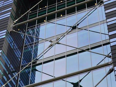 Modern, Architecture, Glas, Building, Design, Office