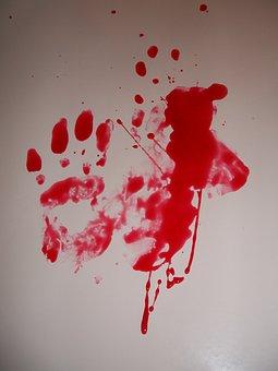 Blood, Crime, Horror, Death, Stain, Murder, Splash