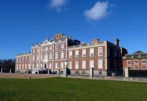 Hall, National, Trust, Building, Structure, Cambridge
