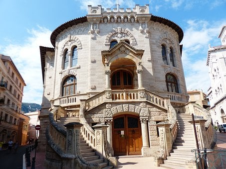 Palace Of Justice, Palace, Justice, Building, Monaco