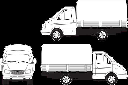 Gas, Gazelle, Awning, Body, Truck, Russian Truck, Load