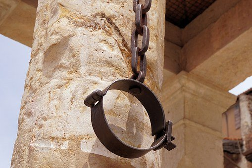 Verona, Italy, Punishment, Penalty, Shackles, Iron