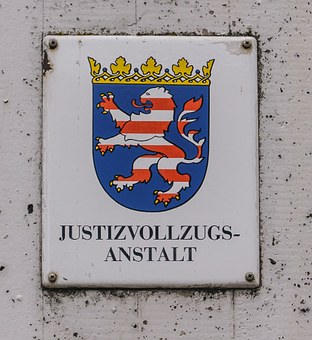 Shield, Coat Of Arms, Justice, Penitentiary
