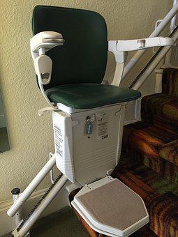 Stair Lift, Stannah, Curved Stairlift, Chair