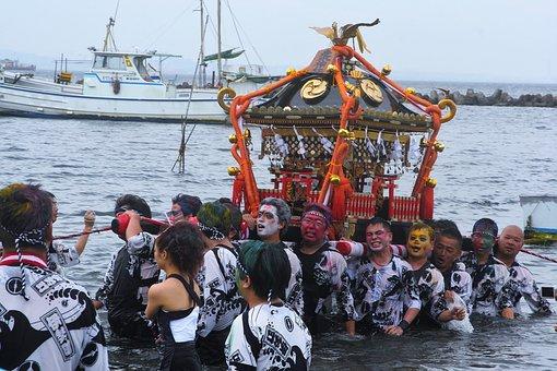Summer Festival, Biannually, Hashirimizu Shrine