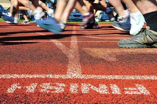 Track, Meet, Race, Racing, Macro, Close-up, Turf, Legs