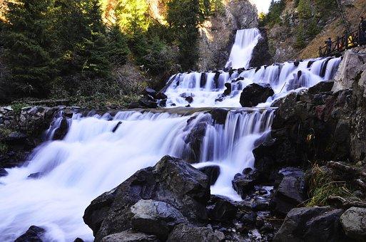 Falls, Tianchi Scenic Spot, Urumqi