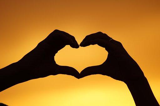 Heart, Hands, West, Love, Trust, Eternity, Woman