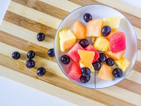 Berries, Berry, Blueberry, Bowl, Breakfast, Cake, Cream