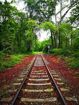 Railway, Wood, Train, Old, Railroad, Trains, Forest