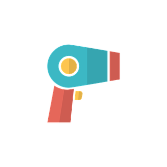 Hairdryer, Icon, Hair, Symbol, Girl, Male, Afro, Head