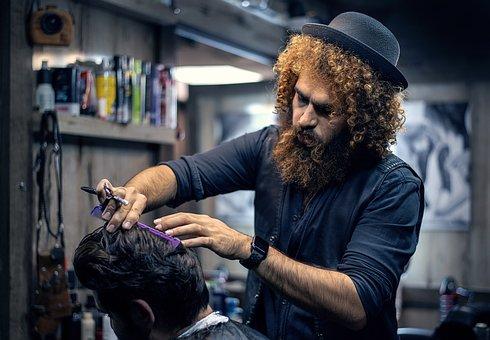 Barber, Barbershop, Haircut, Hairdresser, Salon, Beard