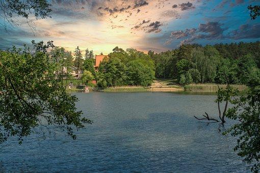 Bathing Place, Templin, Uckermark, Hidden, Idyllic