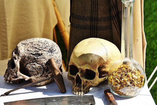 Middle Ages, Bone, Skull, Skeleton, Head, Doctor