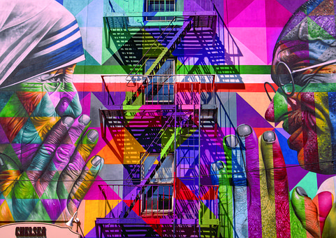 Nyc, Mother Theresa, Chelsea, High Line, Building