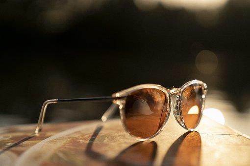 Sunglasses, Summer, Sunset, Fashion
