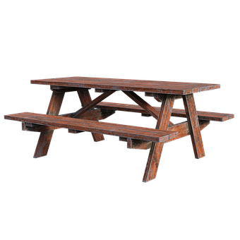 Picnic Table, Wooden, Bench, Wood, Park, Seat, Nature