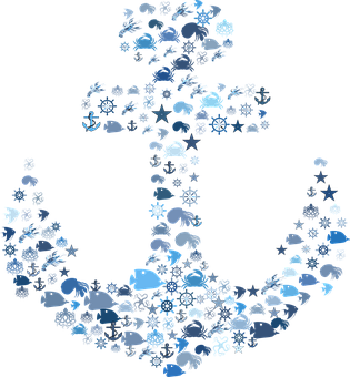 Nautical, Anchor, Maritime, Sea, Ocean, Sailing, Ship