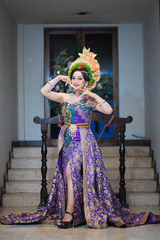 Culture, Wedding, Pose, Bride, Traditional, Asia
