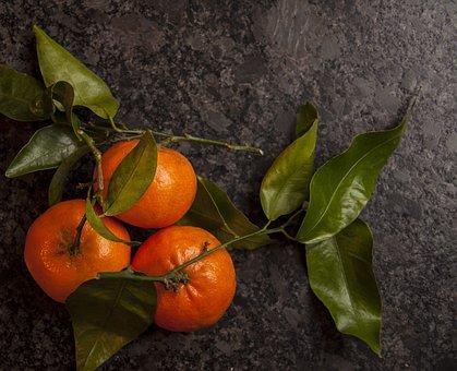 Clementine, Mandarin, Vitamins, Flu, Cold, Vitamin C