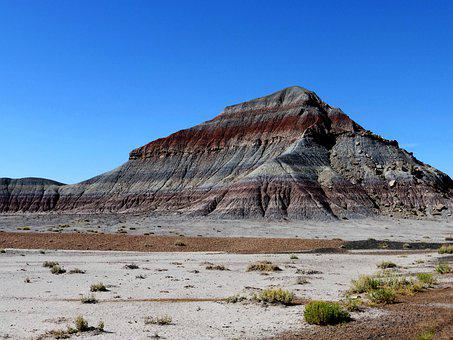 Nature, Mountain, America, Park, Geological, Color