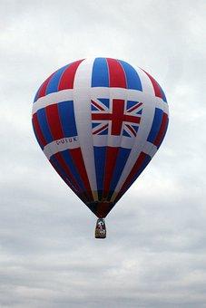 Hot Air Balloon, Sky, Balloon, Flight, Clouds, Floating
