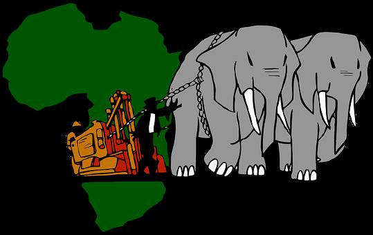 African, Elephant, Mining, History