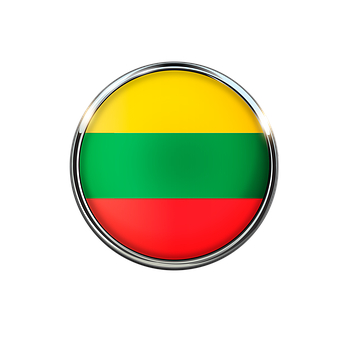 Lithuania, Flag, Symbol, Europe, Nation, National, Sign