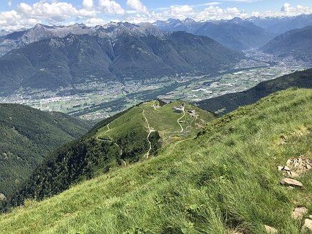 Alpe Foppa, Piano Di Magadino, Alpine Route, Alps